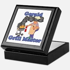 Grill Master Gerald Keepsake Box