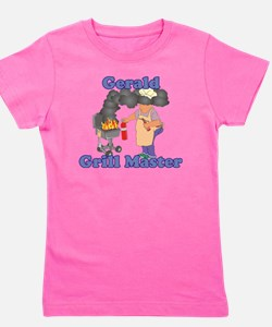 Grill Master Gerald Girl's Tee