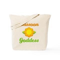 Bassoon Goddess Tote Bag
