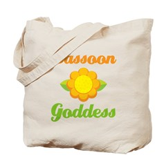 Bassoon Goddess Tote Bag