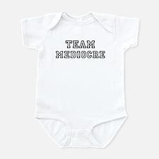 Team MEDIOCRE Infant Bodysuit