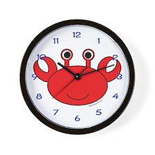 Carl the Crab Wall Clock