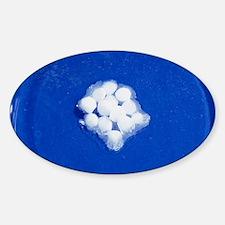 Potassium hydroxide pellets Decal