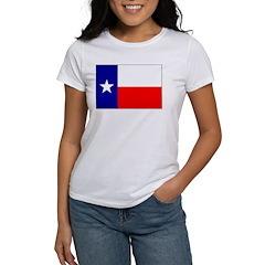 Texas Flag Women's T-Shirt