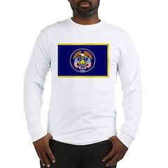 Utah Flag Long Sleeve T-Shirt