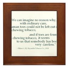 Ordinary Care Framed Tile