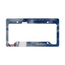 fathers day License Plate Holder