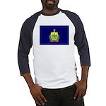 Vermont Flag Baseball Jersey