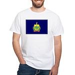 Vermont Flag White T-Shirt