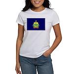 Vermont Flag Women's T-Shirt