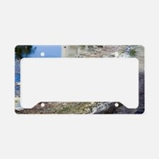 Polluted river License Plate Holder