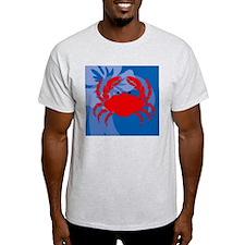 Crab Wine Label T-Shirt