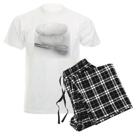 Chefs Hat on Messenger bag Men's Light Pajamas