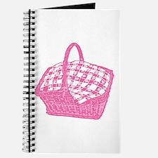 Pink Picnic Basket Journal