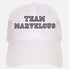Team MARVELOUS Baseball Baseball Cap