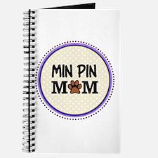 Min Pin Dog Mom Journal