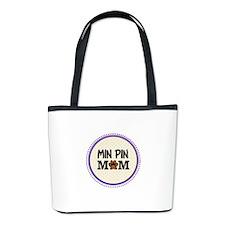 Min Pin Dog Mom Bucket Bag