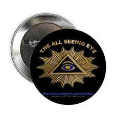ALL SEEING EYE SMILEY FACE GE Button