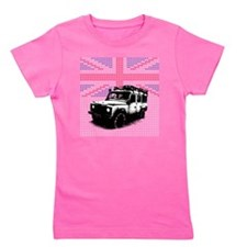 Union Jack Land Rover Defender Girl's Tee