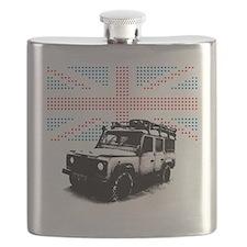 Union Jack Land Rover Defender Flask