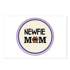 Newfie Dog Mom Postcards (Package of 8)