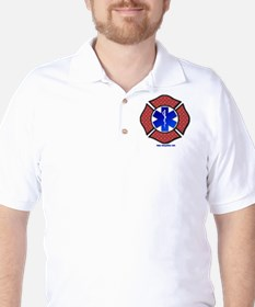 Steel Plate Maltese Cross and Star of L T-Shirt