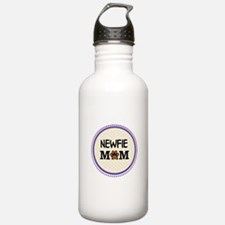 Newfie Dog Mom Water Bottle