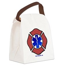 Steel Plate Maltese Cross and Sta Canvas Lunch Bag