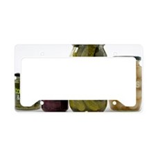 Pickled vegetables License Plate Holder