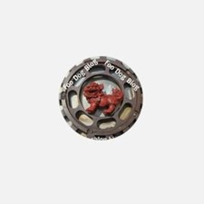 Foo Dog Blog Mini Button