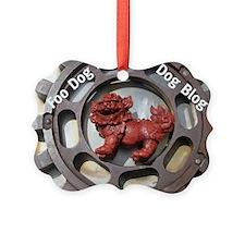 Foo Dog Blog Ornament