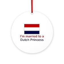 Married To A Dutch Princess Keepsake Ornament