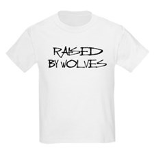 Raised By Wolves Kids T-Shirt