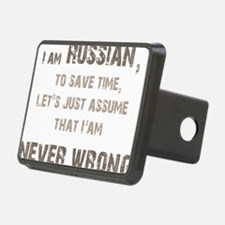 Russians Never Wrong! Hitch Cover