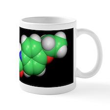 Phenacetin analgesic drug molecule Mug