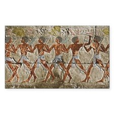 Pharoah's soldiers marching fa Decal
