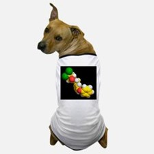 Permethrin insecticide molecule Dog T-Shirt