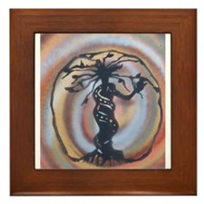 MOTHER EARTH Framed Tile
