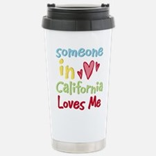 Cute California Travel Mug
