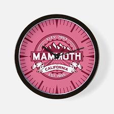 Mammoth Honeysuckle Wall Clock