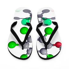 Pentachlorophenol fungicide molecule Flip Flops