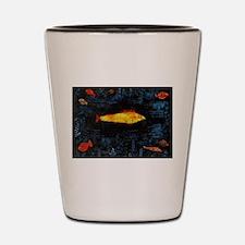 Paul Klee Goldfish Shot Glass