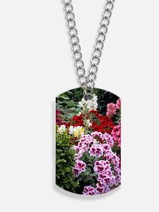 Pelargonium x domesticum Dog Tags