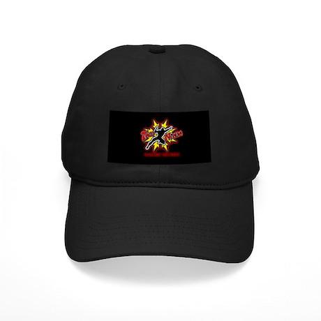 Black on Black Taco Ninja RedGlo Cap