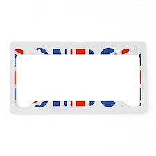 London Union Jack T License Plate Holder