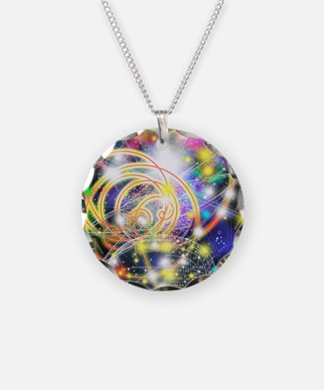 Particle tracks on a star ch Necklace