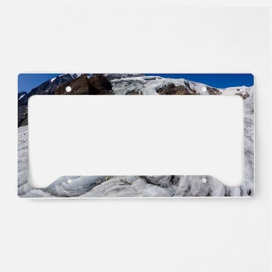 Pasterze Glacier License Plate Holder