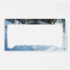 Parabolic solar cooker License Plate Holder