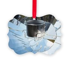 Parabolic solar cooker Ornament