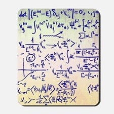 Particle physics equations Mousepad